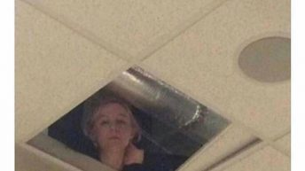 teacher in the ceiling meme