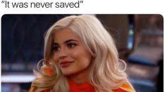 Kylie Jenner delete my number meme