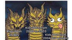 90s kids vs other kids