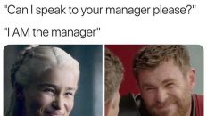 I am the manager meme