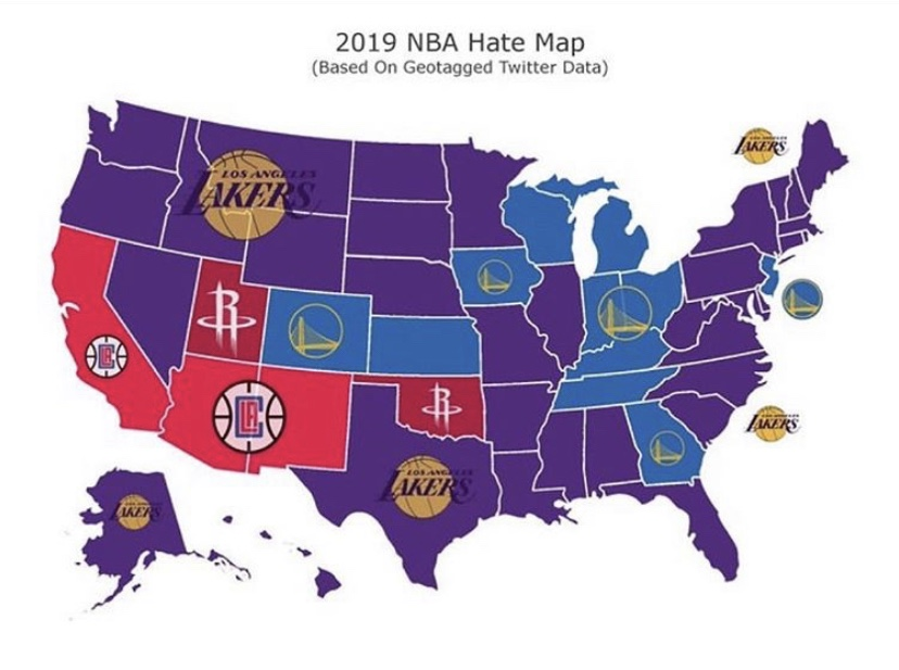 Most hated NBA team