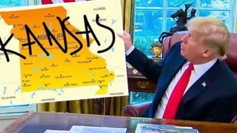 Donald Trump Kansas Missouri mistake