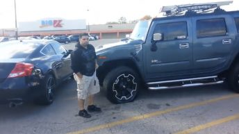Hummer H2 rims gets repoed