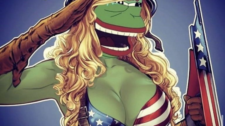 God bless thank you for your service Pepe the frog meme