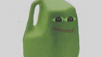 Dang Pepe thiccc meme