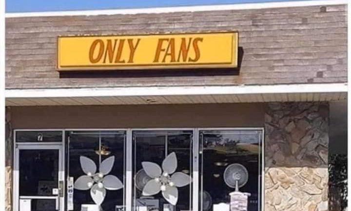 Only Fans store meme