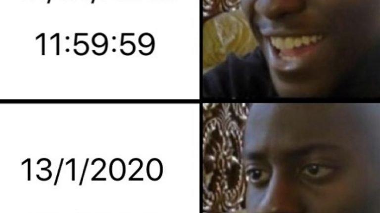 Never ending 2020 meme