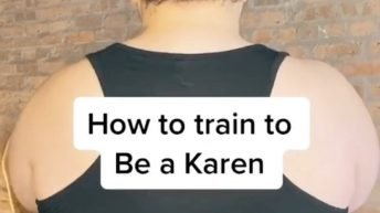 How to be a Karen