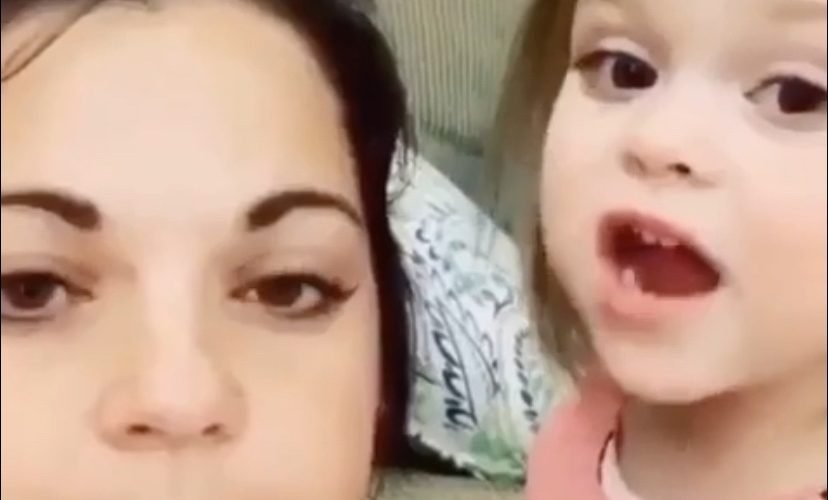 Toddler sings T Pain instead of baby shark
