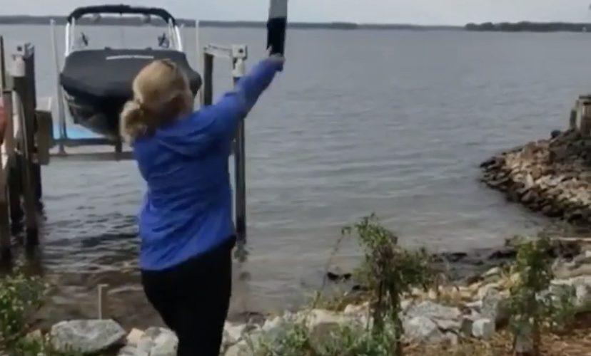 Mom throws Xbox into lake