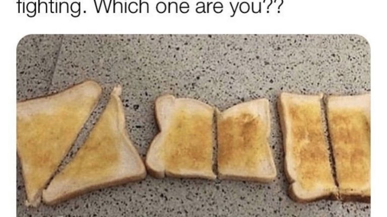 Which way do you slice your bread?