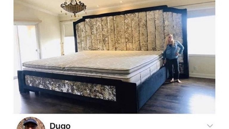 Double king bed meme
