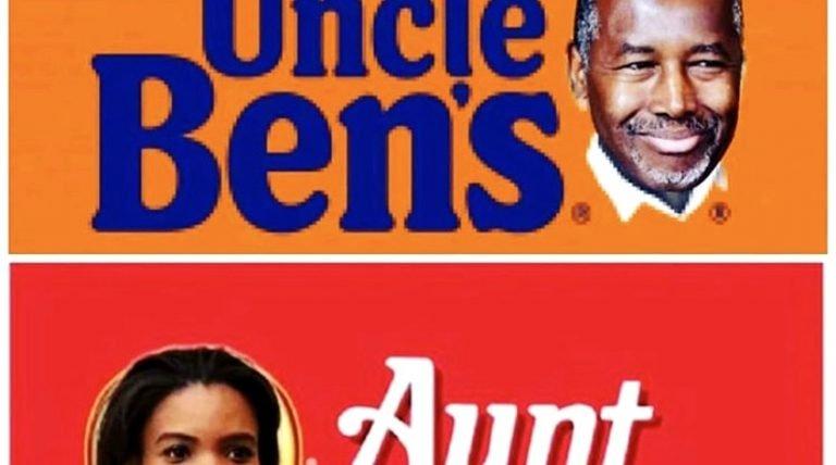 Uncle Bens and Aunt Jemima political meme