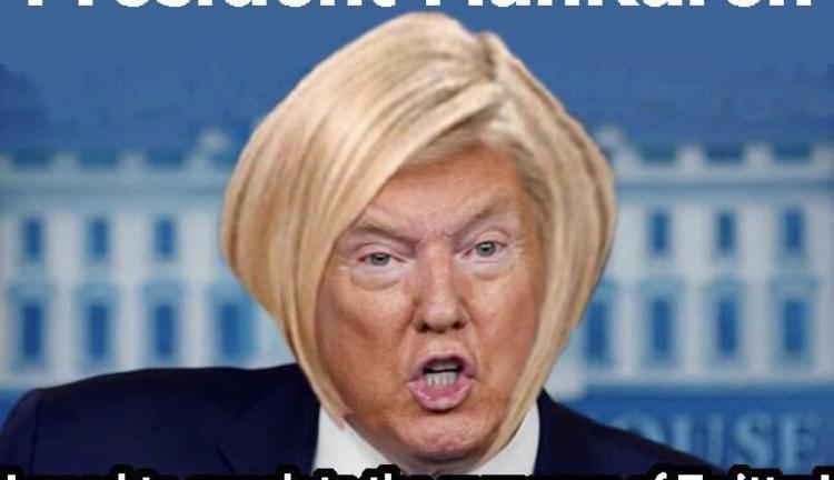 President Donald Trump ManKaren meme