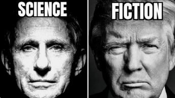 Science fiction Dr. Fauci Trump meme