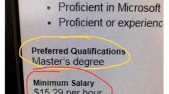 This feels illegal Masters Degree for $15/hour