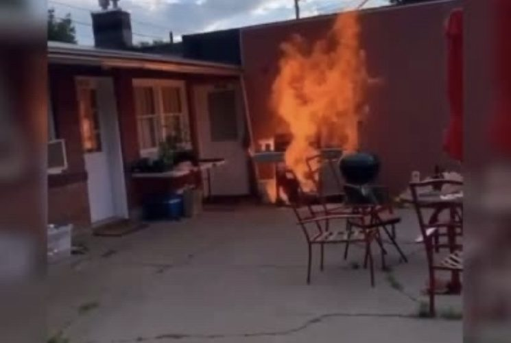 Grilling gone wrong