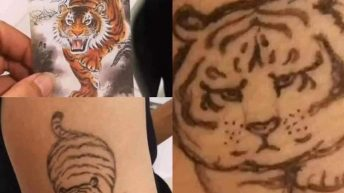 Tiger tattoo what I asked for vs what I got