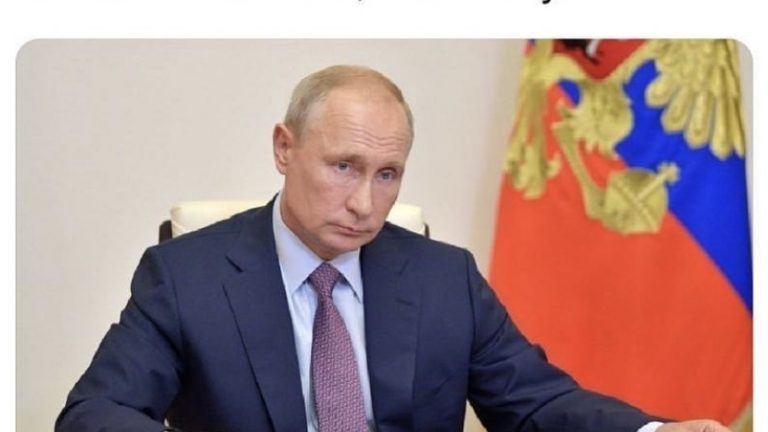 Russa has approved world's first covid-19 vaccine Putin says meme