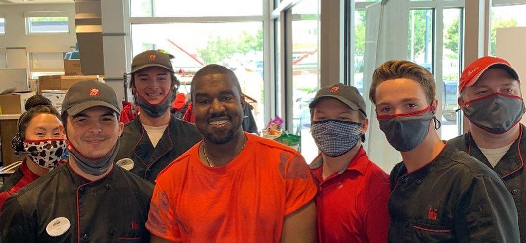 Kanye West visits Chick-fil-A