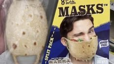 Old El Paso soft shell mask