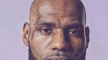 Lebron James bald meme