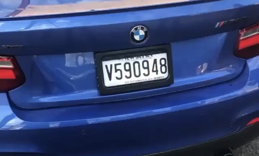 Computerized toll license plate cover