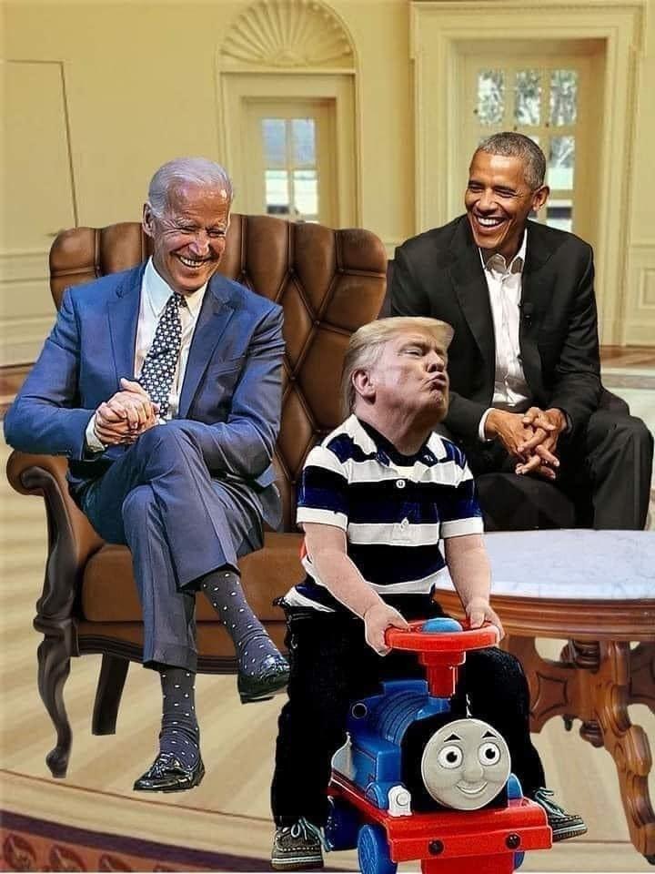 Trump vs Biden meme