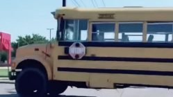 11 year old boy steals school bus