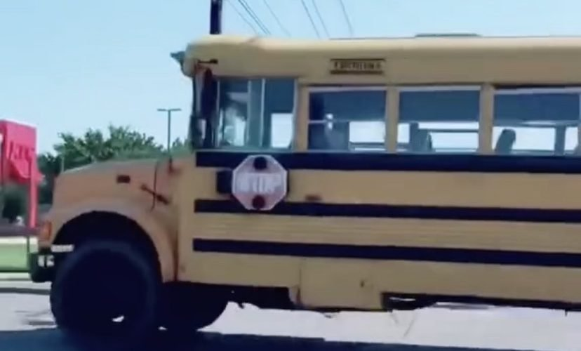 11 year old boy steals school bus