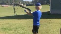 Shooting a shotgun fail