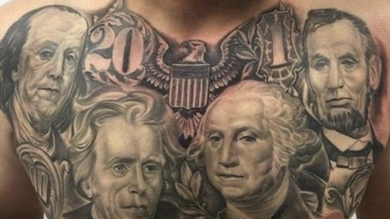President tattoo what I asked for