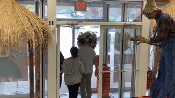 Scarecrow prank