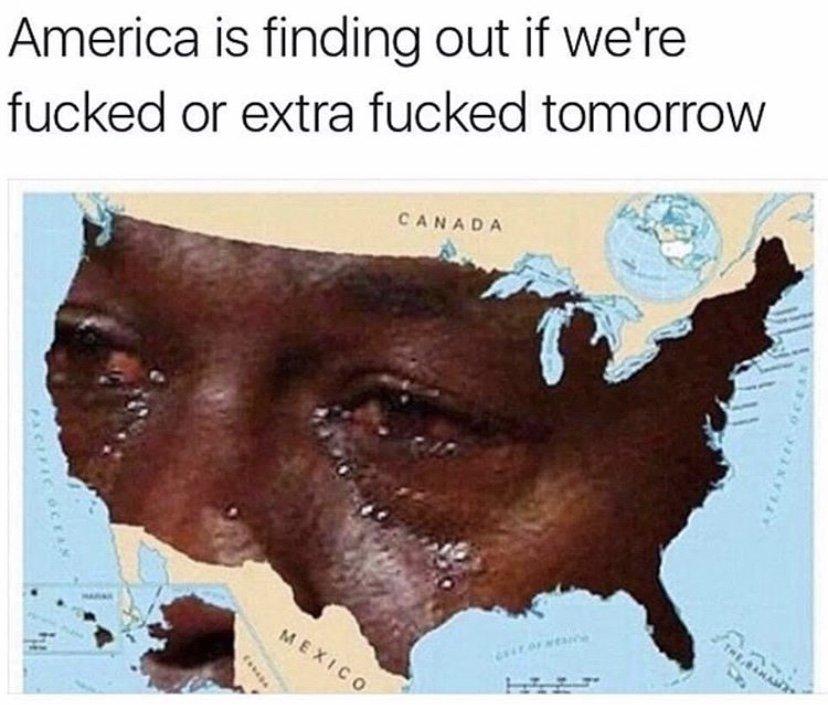 America 2020 election Michael Jordan crying meme