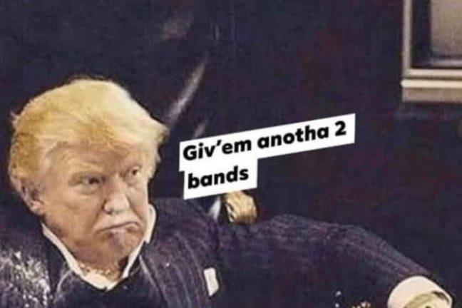 What you say Big T Donald Trump meme