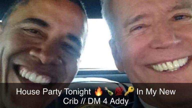 House party tonight Joe Biden win meme