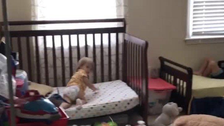 Children caught playing