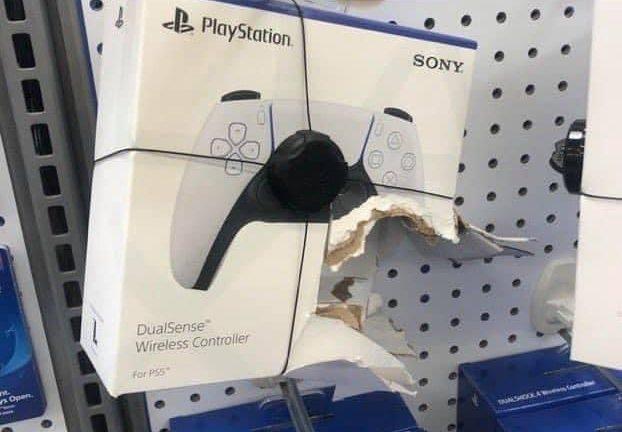 Stolen PS5 game controller