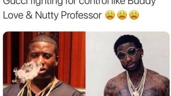 Somebody said Clone Gucci Nutty Professor meme