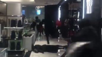 Crazy Black Friday in NY