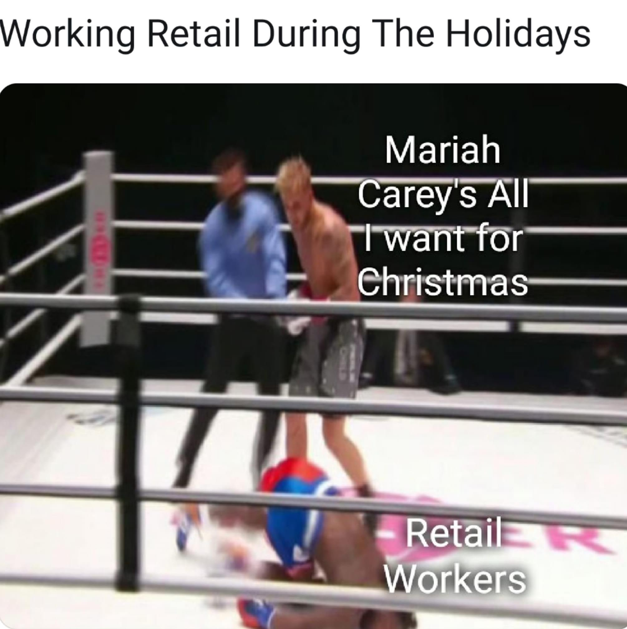 Working retail during the holidays Nate Robinson meme