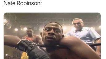 Nobody vs Nate Robinson Martin meme