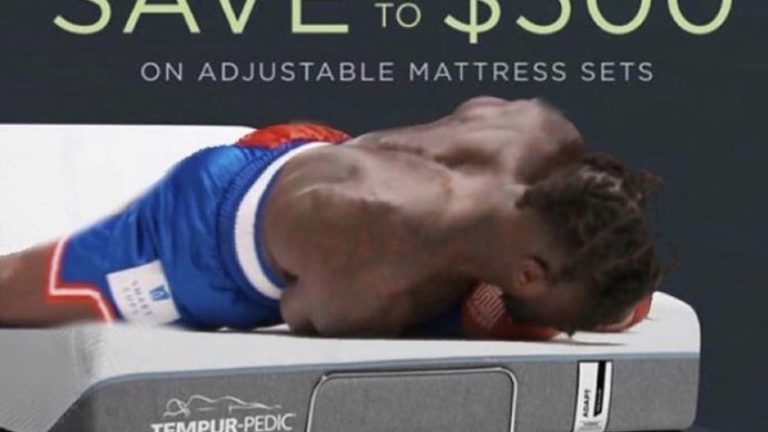 Nate Robinson mattress meme
