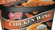 Chicken wing ice cream
