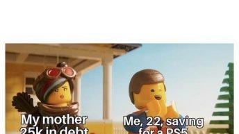 Thank you Congress for the $600 Lego meme