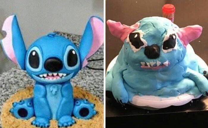 Lilo Stitch cake fail
