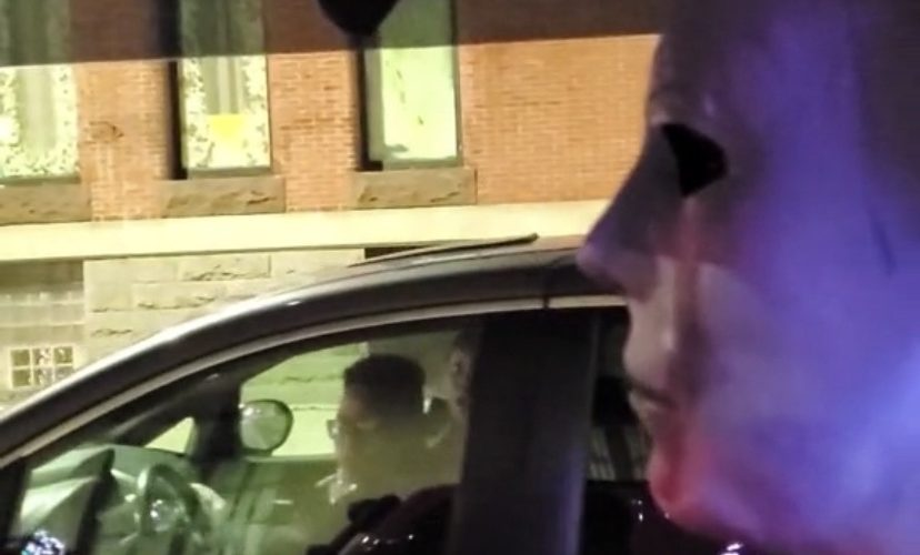 Stop light Jason prank
