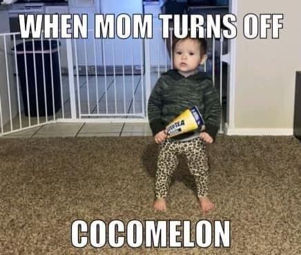 When mom turns off cocomelon Twisted Tea meme