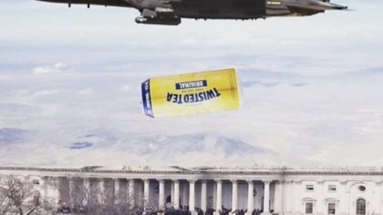 Twisted tea Washington riot meme