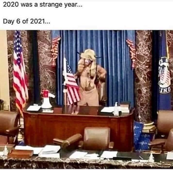 Day 6 of 2021 meme